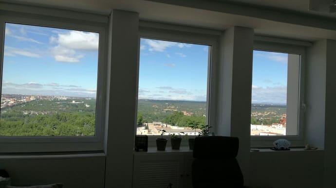 Vistas desde plaza de los cubos de psicocenter Psicologos madrid